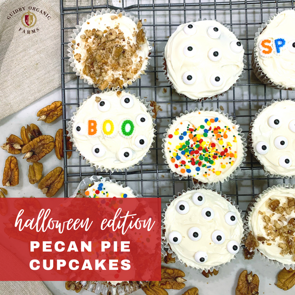 Halloween Edition Pecan Pie Cupcakes