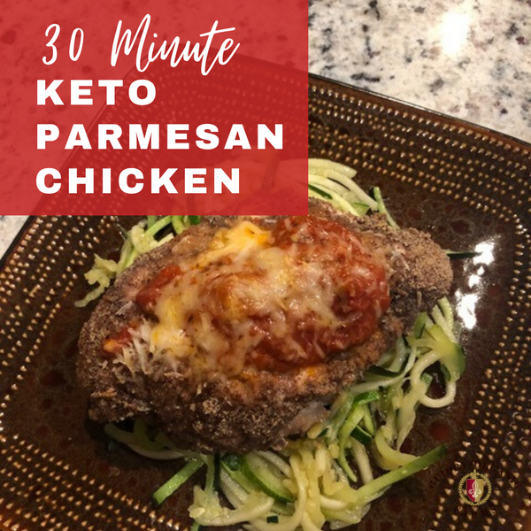 30-Minute Keto Parmesan Chicken