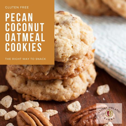 Guidry Pecan Coconut Oatmeal Cookies