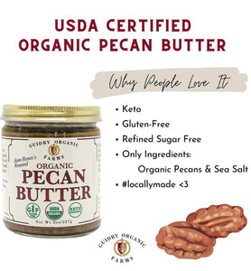 KETO BOX - 16oz Pecan Meal, 8oz Pecan Butter, 250mL Pecan Oil