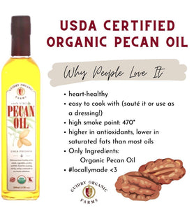 KETO BOX -Organic Pecan Meal 16oz,USDA Organic Pecan Butter 8oz, USDA Organic Pecan Oil 250ml