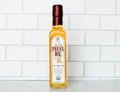 *CLOSEOUT SALE* Pecan Oil 250ml - USDA Organic Certified & Heart Healthy Oil - Guidry Organic Farms