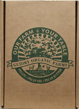 Load image into Gallery viewer, Gift Box #8: 500 mL Pecan Oil & 8oz Pecan Butter - Guidry Organic Farms