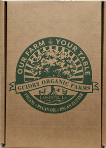Gift Box #6 USDA Certified Organic Pecan Butter 8 oz., Raw, Local,Pure, Honey12oz.