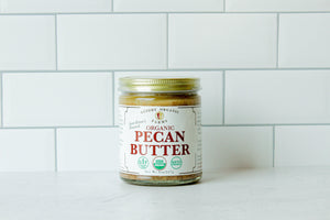 Pecan Butter 8oz - USDA Certified Organic (Keto-Friendly, Gluten Free, No Added Sugars)