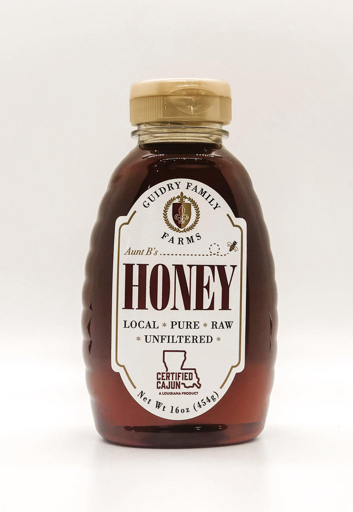 Local, Pure, Raw, Unfiltered Honey 16oz