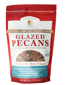 "Glazed Pecans ""On sale for $10"""