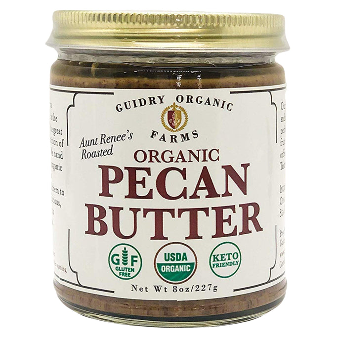 Organic Roasted Pecan Butter - Shop for Organic Roasted Pecan Butter - Guidry Organic Farms