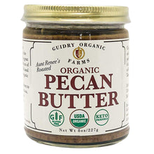 Load image into Gallery viewer, Organic Roasted Pecan Butter - Shop for Organic Roasted Pecan Butter - Guidry Organic Farms
