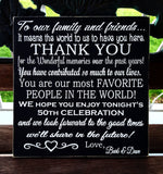 Wedding/Anniversary Guest Thank You sign - Kelly Belly Boo-tique  - 3