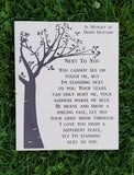 Next To You wood sign