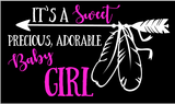 It's A Boy / It's A Girl Gender Reveal wood sign