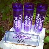 16 Ounce Bridal Party acrylic skinny tumbler