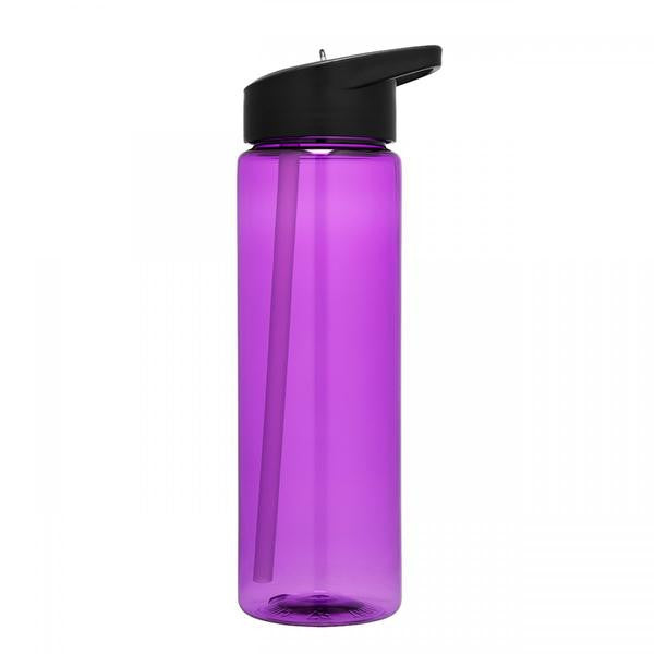 Personalized 24 Ounce Sport Water Bottle with Straw