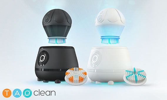 Aura Clean System Facial Brush and Cleaning Station