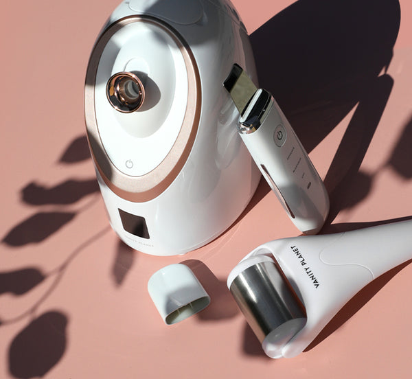 mother's day gift guide, great gift ideas for mother's day, facial steamer, ice roller