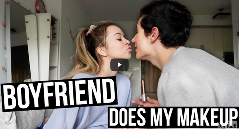 Boyfriend Does My Makeup| Sierra & Alex!