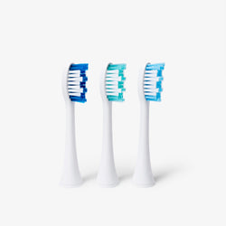 Replacement Brushes (Large) | Elements Sonic Toothbrush - 3 Pack - 0