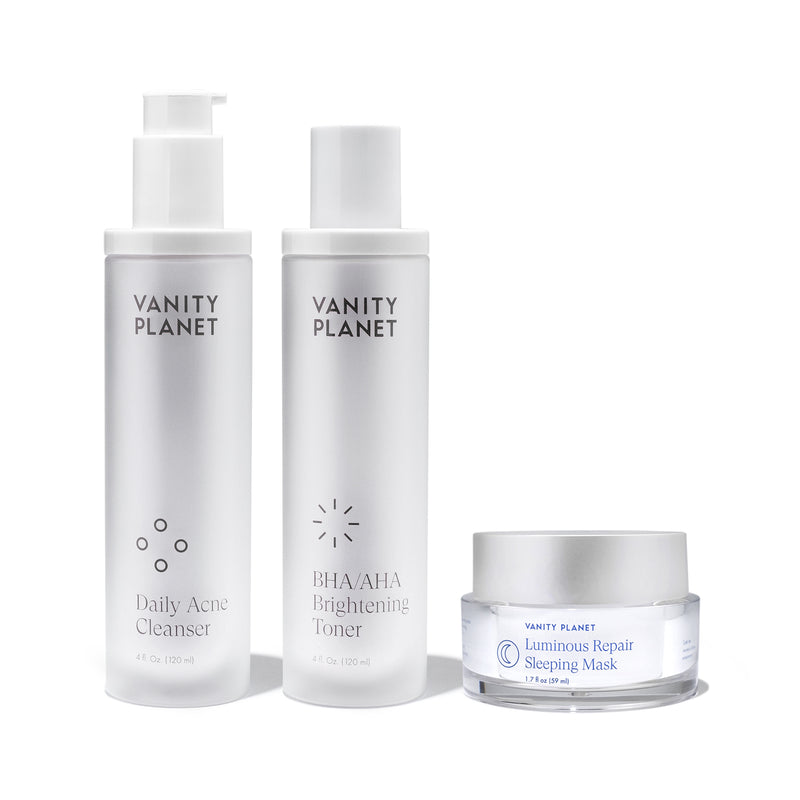 The Essentials Bundle - Cleanse + Tone + Mask