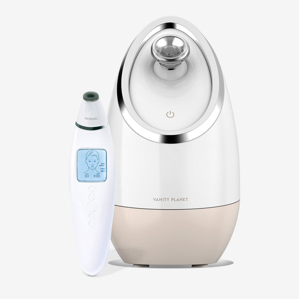 Aira Face Steamer + Exfora Microdermabrasion Wand.