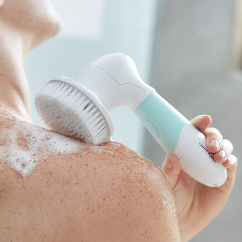Spin for Perfect Skin | Face & Body Cleansing Brush.