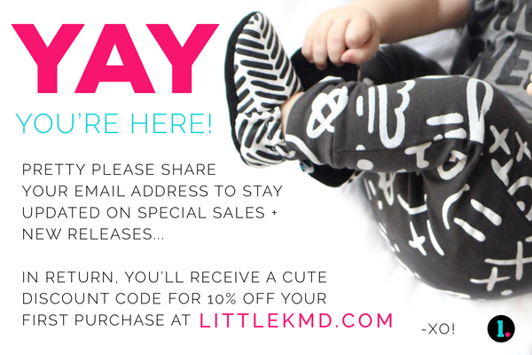 littleKMD.com - New customer discount code.