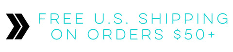 FREE SHIPPING TO US DESTINATIONS