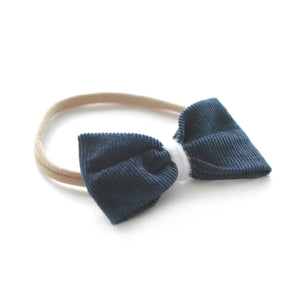 Pinched Baby Bow Headband