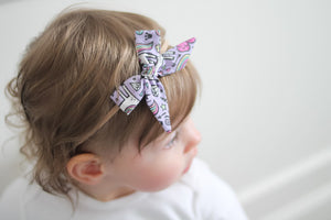 Baby Bow Headband :: Tied