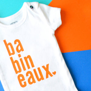 Baby Onesie - Long Name