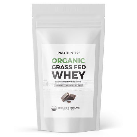 Protein 17 Organic Grass-fed Whey Protein - Organic Chocolate