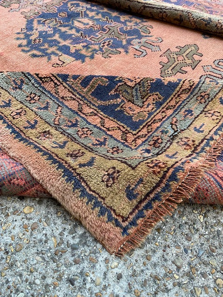 "1930s Persian ""Mahal"" Carpet 3.66X2.75"