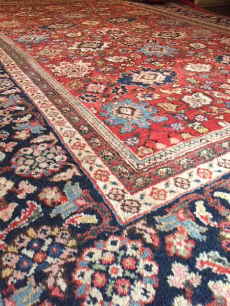 1920s Persian Mahal Carpet 3.50 X 2.30