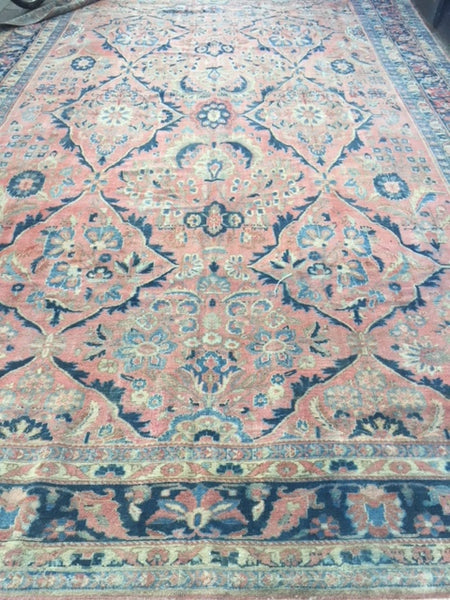 1890-1910 Mahal Carpet 5.22 X 3.50