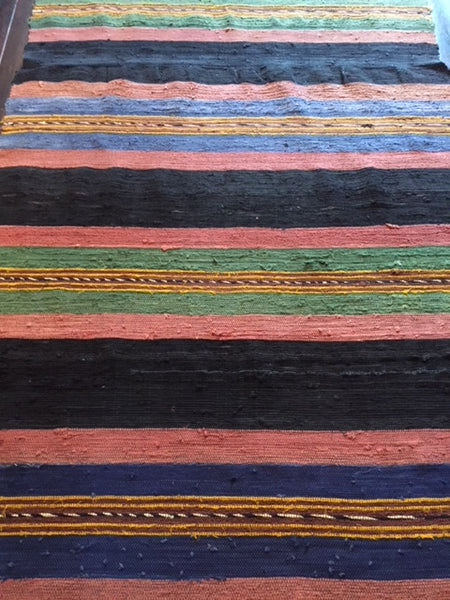 1930s Tribal Anatolian Runner 5.10 X 1.05