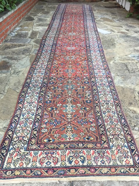 "1920s Persian ""Malayer"" Runner 5.50X1.00"