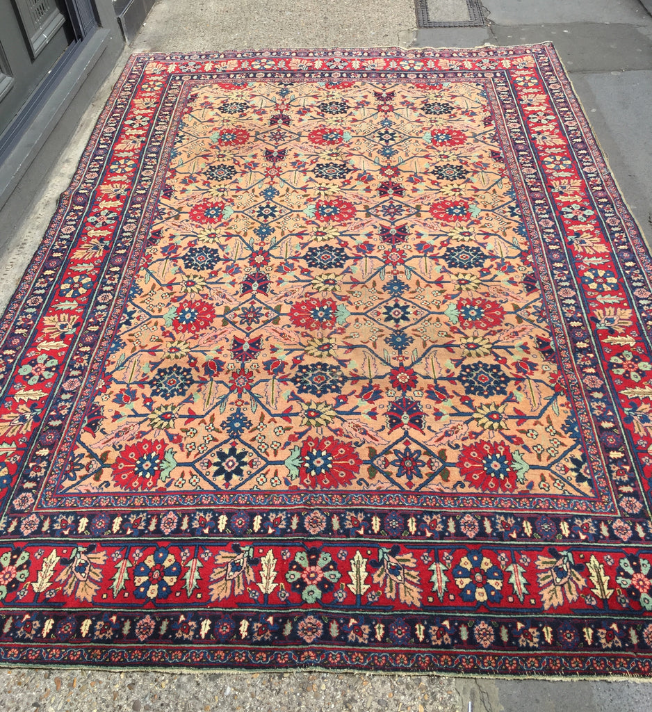 Early 1900's Tabriz Persian Carpet 3.30X2.30