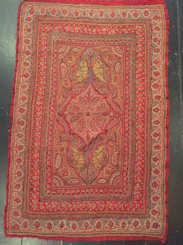 19th Century Persian Kerman Pateh (Textile)