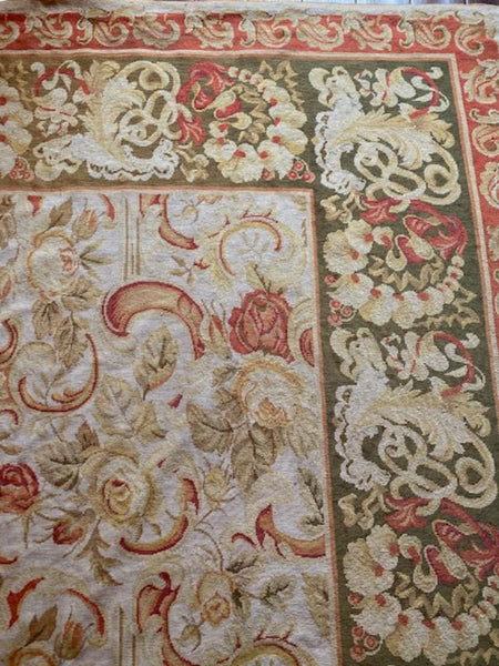 Aubusson Carpet 3.50X2.90