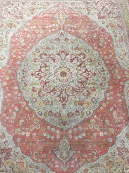 Early 1900s Tabriz 3.60X2.82