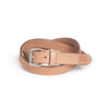 Daily Belt - Tan / Silver (24 mm)