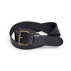 Daily Belt - Black / Antique Brass (29 mm)