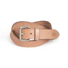 Daily Belt - Tan / Silver (34 mm)