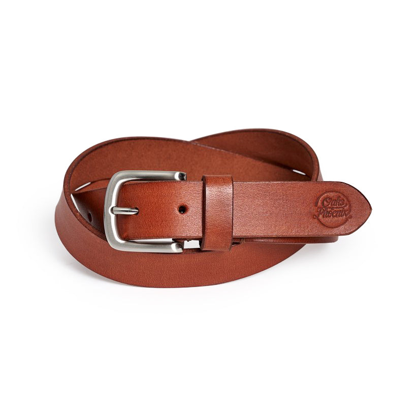 Dress Belt - Sirup Brown / Silver (29 mm)