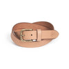 Dress Belt - Tan / Antique Brass (29 mm)