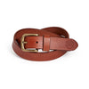 Dress Belt - Sirup Brown / Antique Brass (29 mm)