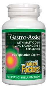 Natural Factors Gastro Assist - 60caps