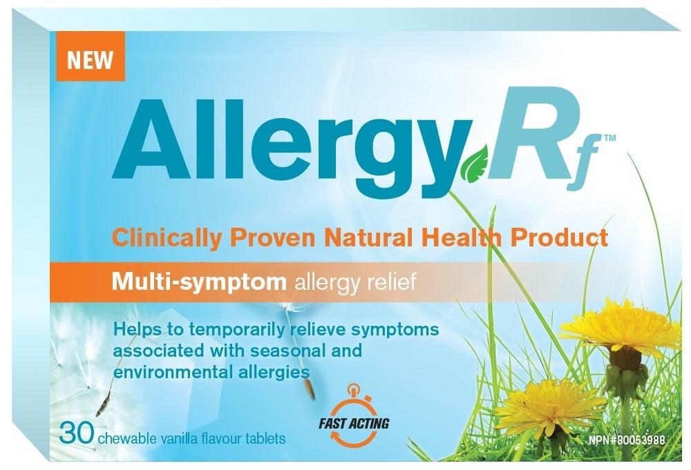 Allergy Rf Vanilla Tablets