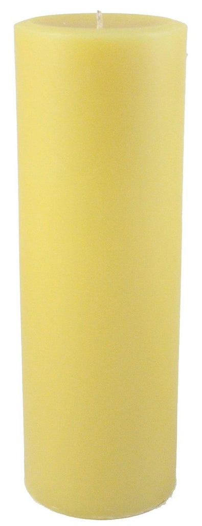 Bauman's Apiaries 3x9 Pillar Candle