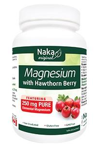Naka Magnesium with Hawthorn 250mg  - 200 Caps